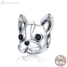 Charm Pendant W.F.Pandora Dog French Bulldog Bully 925 Sterling Silver