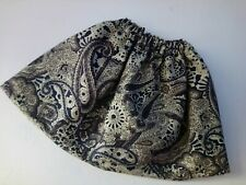 BJB Vintage Sasha dolls clothes, Pretty cream brown and grey paisley skirt