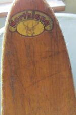 New listing VINTAGE NORTHLAND DOWNHILL SLALOM SKIS AND POLES-VERY NICE!