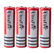 4PCS 3800mAh 3.7V 18650 Rechargeable Li-ion Battery for Headlamp Flash-light NEW