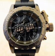 Gothic Teschio PUGNO Stile Militare Esercito Commando GT SERIE grosso orologio