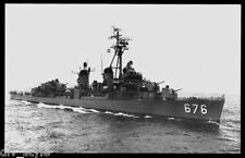 USS Marshall DD-676 postcard US Navy Destroyer