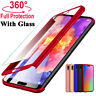 360° Full Cover Case + Tempered Glass For Huawei Mate 20 10 Lite 9 P30 P20 Pro