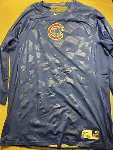 Men's Nike Pro Chicago Cubs Fitted Shirt XL