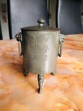 Chinese Pewter Teapot Wine Pot