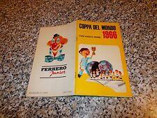 ALBUM COPPA DEL MONDO 1966 FERRERO COMPLETO(-5 FIGURINE)EDICOLA TIPO PANINI MIRA