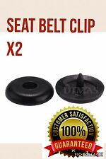 Seat belt buckle holder x2. Stop your buckle falling down on the belt.