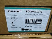 FOVRA2X2YL PANDUIT OUTSIDE VERTICAL RIGHT ANGLE FITTING 2 X 2 NEW