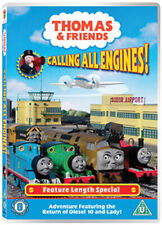 THOMAS AND FRIENDS - CALLING ALL ENGINES DVD [UK] NEW DVD