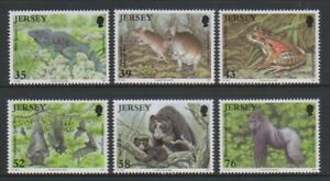 Jersey - 2009, Endangered Species set - MNH - SG 1421/6