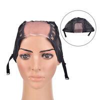 Bonnet de perruque pour la confection de perruques à bretelles réglables, tisIBB
