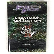 Sword & Sorcery Scarred Lands d20 Creature Collection II - Dark Menagerie HC RPG