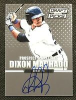 Dixon Machado 2013 Prizm Perennial Draft Picks Prospect Autograph #62 Tigers RC