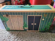 00004000 Rare Vintage Mattel 1962 Barbie Doll Dream House W/ Many Accessories