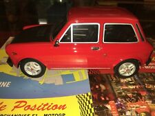 LAUDORACING AUTOBIANCHI A112 ABARTH 70HP RED VERY RARE NEW SHIPPING WORLDWIDE