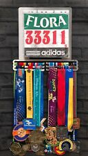 Race Bib And Medal Display