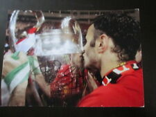 Manchester United 2008 Champions League signiert Ryan Giggs Fußball Foto/Bi