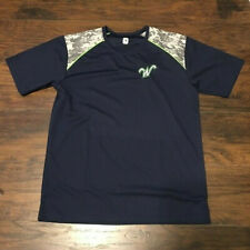 Worcester Bravehearts FCBL Summer Baseball Batting Practice shirt Size L