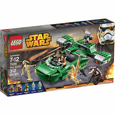 75091 FLASH SPEEDER clone star wars lego NEW sealed box MISB legos set