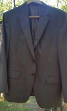 NWOT Banana Republic Wool Sport Jacket Charcoal Black Grey Men's Size 42S Nice!