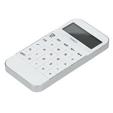 New Office Supplies Student Mini Electronic Digit Calculator Time White