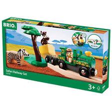 BRIO 33720 Safari Starter Set  Wooden Train Set