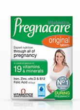 2 x Vitabiotics Pregnacare Original through all of Pregnancy Vitamins 30 Tablets