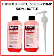 Hydrex Surgical Scrub 4 Chlorhexidine Gluconate Skin Cleanser 500ml