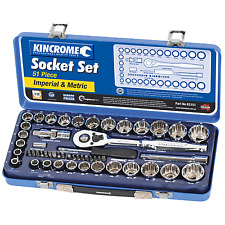 "Kincrome 51 Piece 1 / 2"" Drive Imperial / Metric Socket Set"