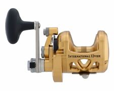 Penn INTERNATIONAL 12VISX Series Two 2 Speed Reel - BRAND NEW + FreePost 12 VISX