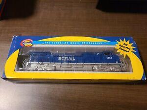 Athearn BC Rail  #4651 Digitrax Decoder Dash9-44cw  (A72)