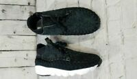 NEW Nike Air Footscape Woven Chukka QS 913929-001 Anthracite Black MEN'S SZ 8