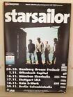 STARSAILOR SILENCE IS EASY TOUR POSTER GERMAN TOUR DATES POSTER (APPROX 59CM X 8
