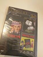 DVD  tres clasicos (el gran tipo,Angel ,whistle stop)(nueva precintada)