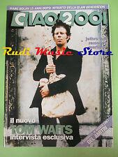 rivista CIAO 2001 38/1992 Tom Waits Jethro Tull Marc Boland Ramones  No cd
