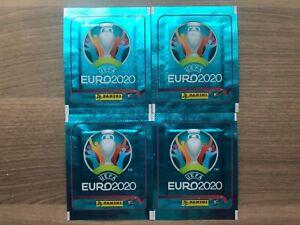 Panini EURO 2020 no Preview RARE 4 sealed packs