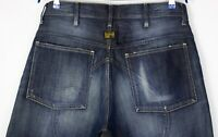 G-Star Brut Hommes Jeans Jambe Droite Taille W36 L30 ALZ653