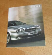 Jaguar X Type Brochure 2006-2007 Classic Sport Premium Sovereign 2.0 2.2D 2.5 V6