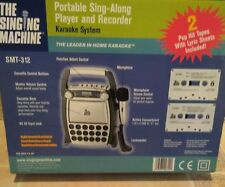 The Singing Machine Portable Karaoke System Kid's Player & Recordable   SMT-312