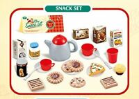 Children Play My Tea Set Plastic Snacks Food Afternoon Teapot 23+ Pcs Set