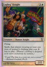 Ladies' Knight FOIL | NM | Unhinged | Magic MTG