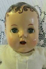 Beautiful 18 Inch Composition Head Baby Doll -Unbranded