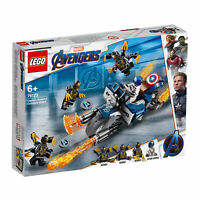 76123 LEGO Captain America: Outriders Attack Marvel Avengers Super Heroes 167pcs