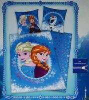 Disney Frozen/Eiskönigin Wende Bettwäsche Set 135 x 200 cm 100% Baumwolle