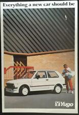 Zastava Yugo Brochure 1987 {45,55,311,511,513}