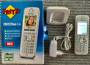 AVM FRITZ!Fon C4 Schnurloses VoIP Telefon - Weiß (20002624)