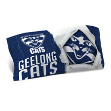 Geelong Cats 2018 AFL Single Pillowcase BNWT