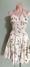 Cecilia De Bucourt Bloomingdales Boho Sexy Sundress Dress Empire Waist Medium M