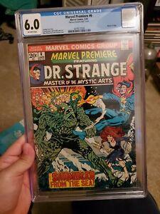 Marvel premiere 6 cgc 6.0