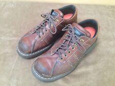 Dr Doc Martens Mens Medium Brown Leather Shoes Oxfords US size 13   EU sz 47